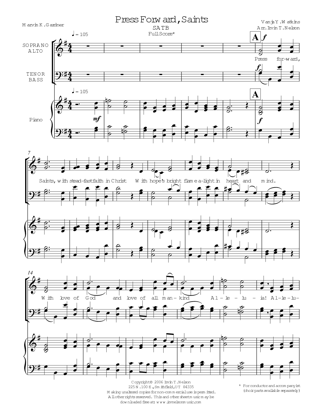Pioneers Sheet Music 98 Free Arrangements