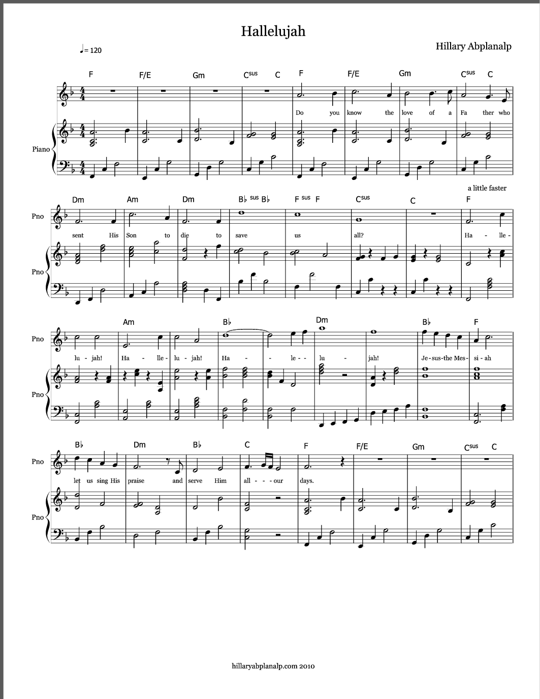 tsfh victory piano sheet music pdf