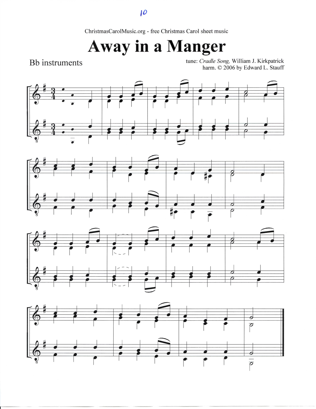 free sheet music free printable pdf sheet music notes stationery ...