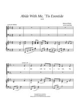 Abide With Me, Tis Eventide