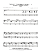 Primary Christmas Medley #2  SATB