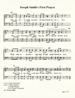 Joseph Smith's First Prayer  (set to 4 diff. tunes)