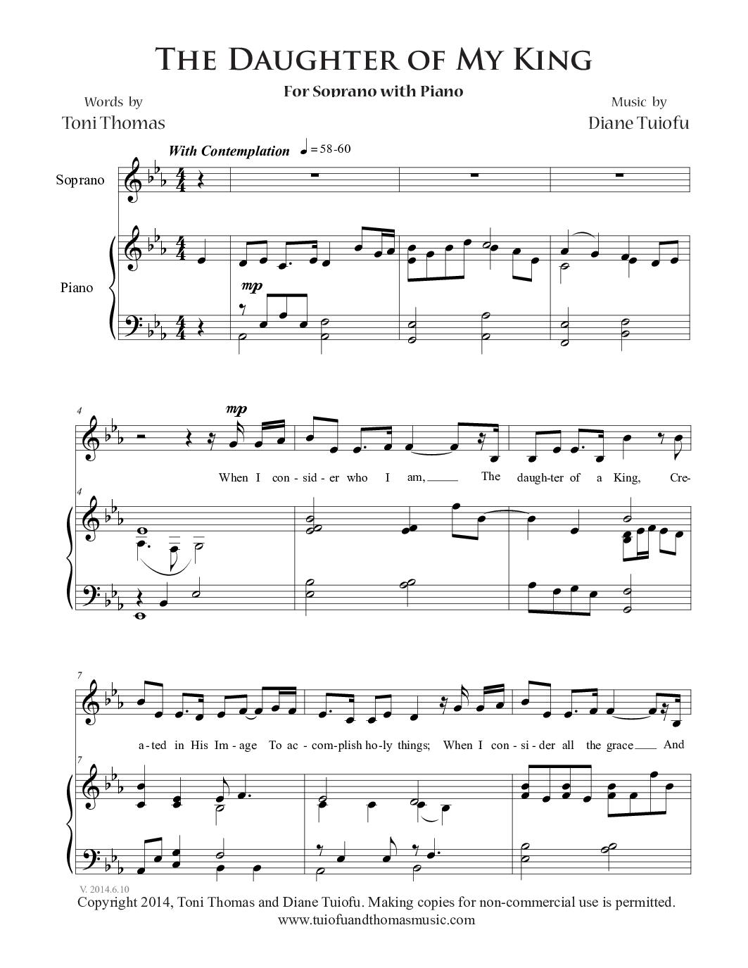 Youth Daughter Piano Sheet Music Heartpulsar