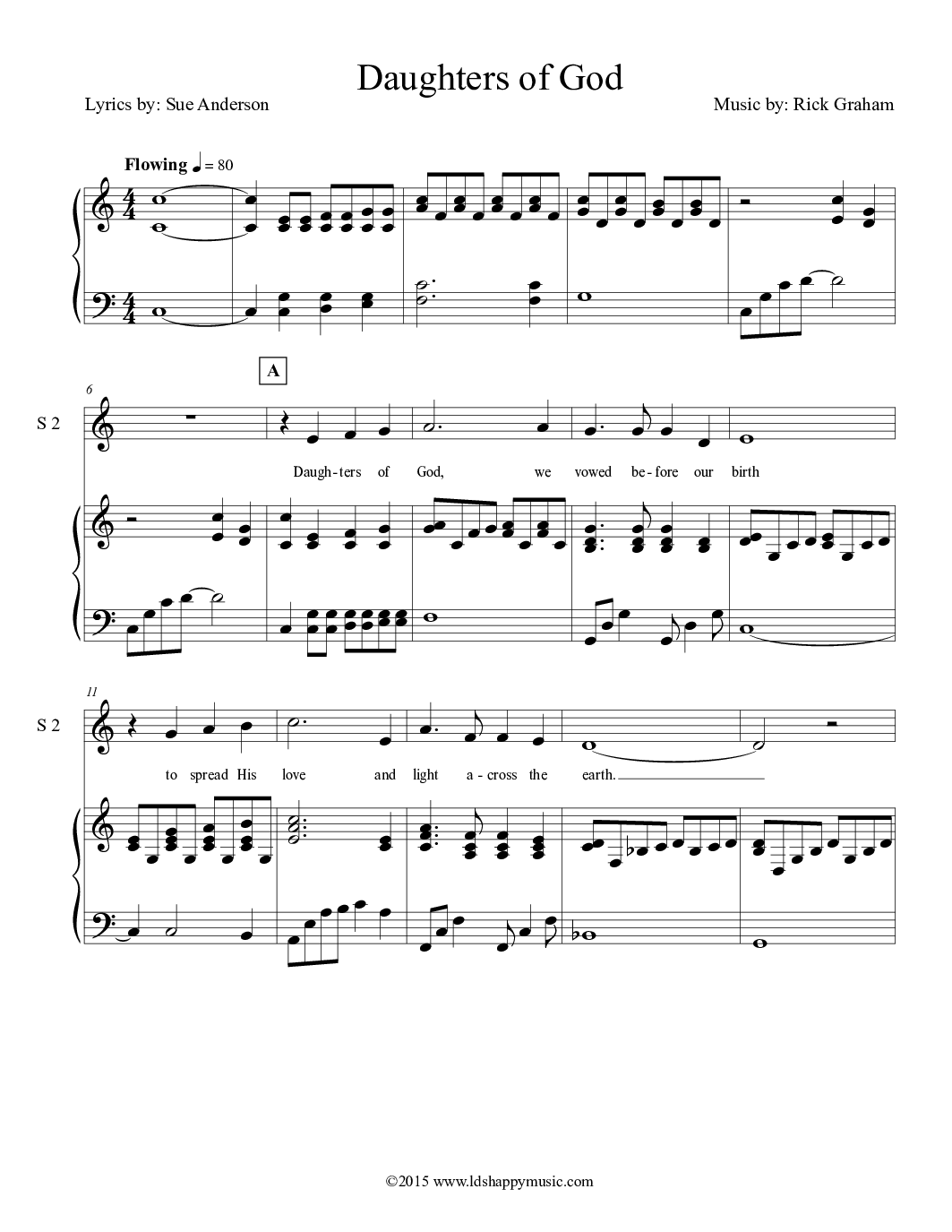 Young women values sheet music 70 free arrangements daughters of god hexwebz Image collections