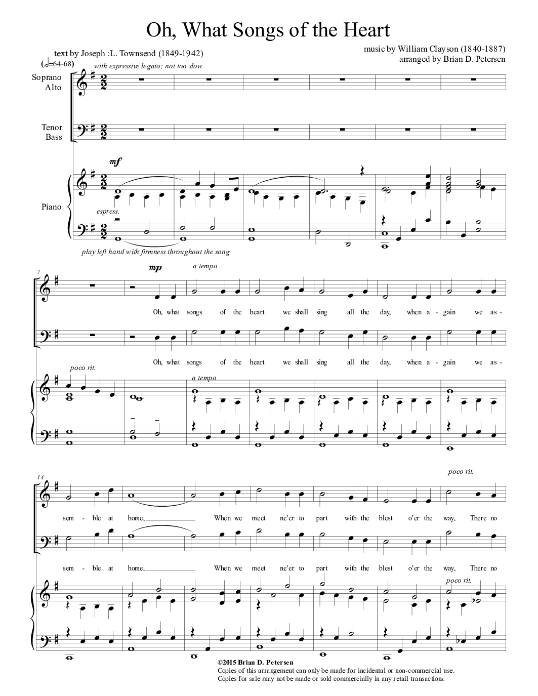 Plan of salvationpremortal life sheet music 318 free arrangements o what songs of the heart hexwebz Gallery
