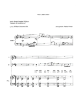 What Child Is This - SATB/ piano