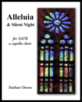 SATB - Silent Night (& Alleluia)
