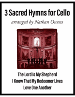 CELLO - 3 Sacred Hymns for Cello